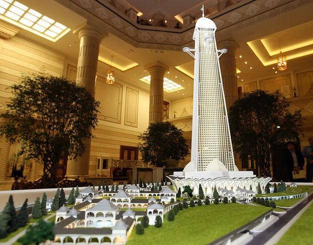 ساخت بلندترین آسمانخراش اروپا در روسیه