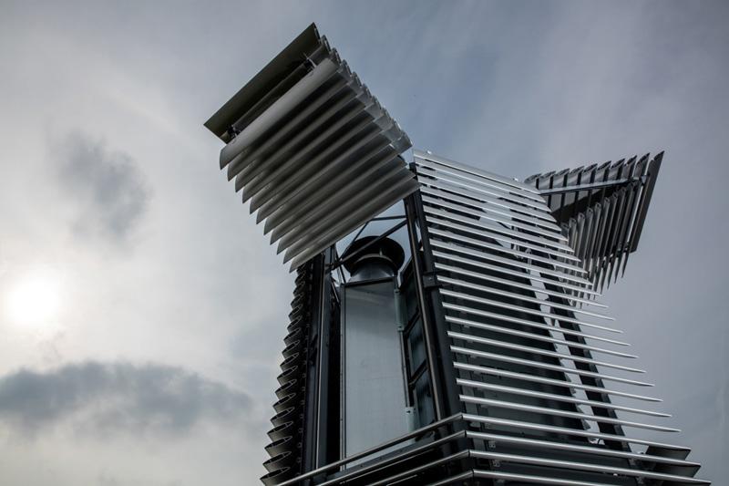 از نخستین برج تصفیة هوا در روتردام پردهبرداری شد