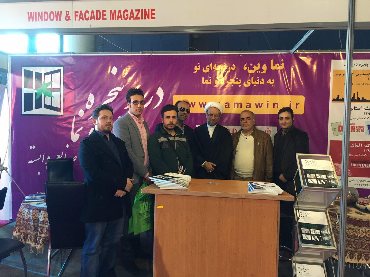 گزارش تصویری از غرفه باشگاه در و پنجره و نما در هفتمین نمایشگاه در و پنجره و صنایع وابسته
