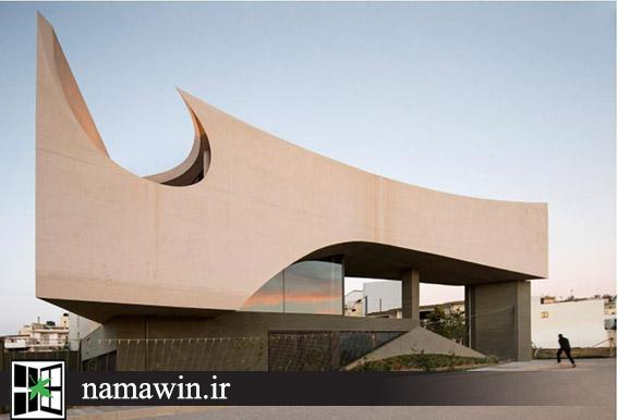 ساختمانی با ترکیب مجسمه سازی و معماری