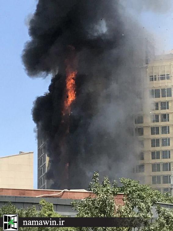 اشتعال نمای کامپوزیت، عامل آتشسوزی هتل مشهد بود