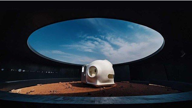 خانهای کوچک برای مریخ +تصاویر