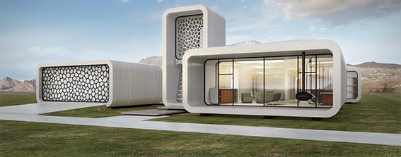 اولین ساختمان اداری پرینت سه بعدی شده در دبی