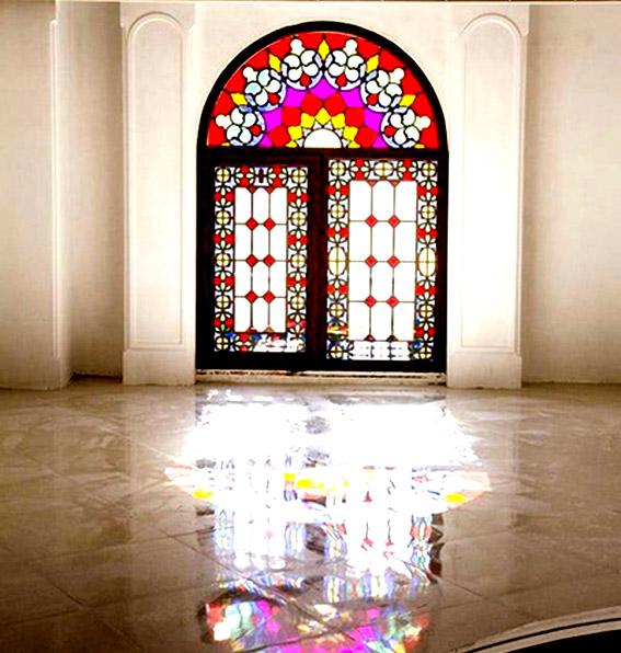 نسل جدید پنجرههای upvc به سبک معماری ایرانی اسلامی