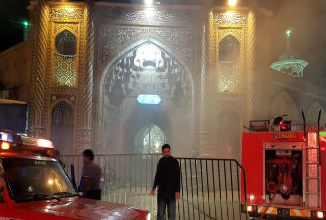 آتش سوزی درحرم حضرت معصومه(س)/ آسیبی به معماری سنتی وارد نشده است