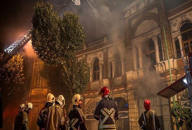 تشکیل کمیته فنی بررسی میزان خسارت آتشسوزی میدان حسنآباد