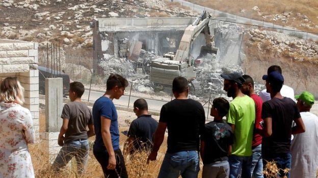 اتحادیه اروپا به اسرائیل: تخریب خانه فلسطینی ها را متوقف کنید