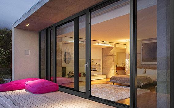 درب و پنجره لیفتاند اسلاید (Lift &Slide Aluminium Door & Window)