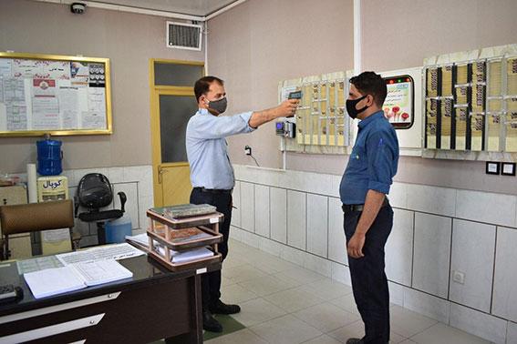 اقدامات پیشگیرانه شرکت آلومینیوم کوپال اصفهان در بحران کرونا
