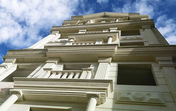 دلایل افزایش نماهای رومی در قزوین
