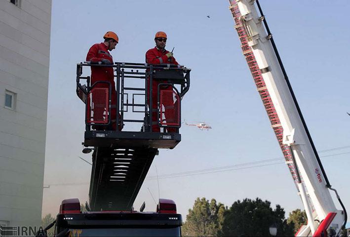 تجهیزات آتشنشانی زنجان پاسخگوی ساختمانهای بلند شهر نیست