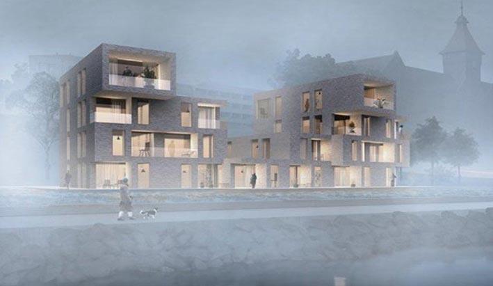 ساخت بزرگترین ساختمان مسکونی جهان توسط دانفوس