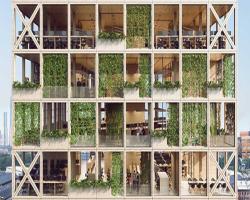 سیستم نمای پیکسلی، ترکیب عاشقانه طبیعت و نسل بعدی تکنولوژی ساختمان