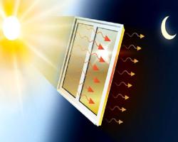 حفظ تعادل دمای اتاق با غشای جدید پنجره