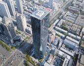 نگاهی به معماری یک آسمانخراش چینی، برج taiyuan