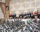 آكپا به كاركنان خود 180 دوچرخه اهدا كرد