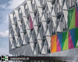 در دانمارک: ساختمانی که دمای داخلی خود را به دست نما می سپارد!