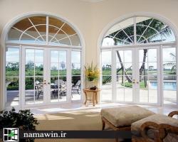 پنجره دوجداره هلالی چگونه شکل میگیرد