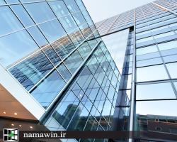 نمای ساختمان با تکنولوژی روز