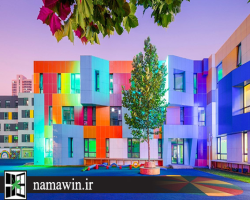 رنگ نماي ساختمان