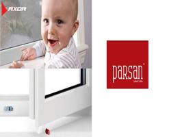 قفل کودک پنجره سهحالته AXOR در پرسان صنعت آریا