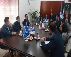 جلسه هماندیشی آبایان پروفیل با مدیریت شعب بانک رفاه خوزستان