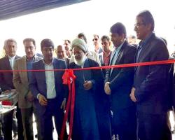 افتتاح واحد تولید پروفیل در و پنجرههای نوین آلومینیوم در یزد
