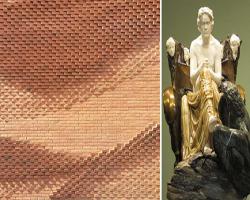 طراحی نمای آجری با الهام از بتهوون