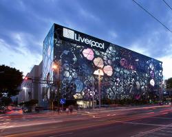 خلق نمای عمیق در مرکز خرید Liverpool