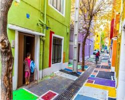 هویت رنگها و زيباسازي فضاي شهري