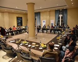 گزارش تصویری جلسه گردهمایی و هماندیشی انجمن در، پنجره و نمای ساختمانی تهران