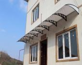 لزوم استفاده از بارانگیر و آفتابگیر در ورودی ساختمانها و بالای پنجرهها